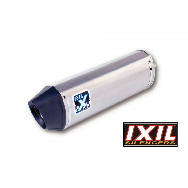 Uitlaatdemper Hexoval Xtrem zilver | Kawasaki KLE300 Versys