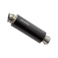 Compleet uitlaatsysteem SRC 4 (2-1) zwart | Z650/Ninja 650