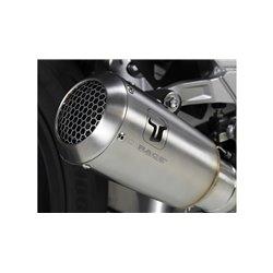 Compleet uitlaatsysteem MK2 Zilver | Honda CB650R/CBR650R