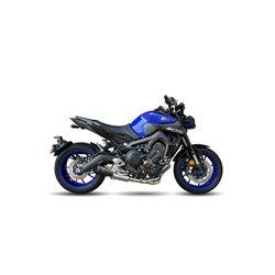 Compleet uitlaatsysteem MK2 Zwart | Yamaha MT-09/Tracer/XSR
