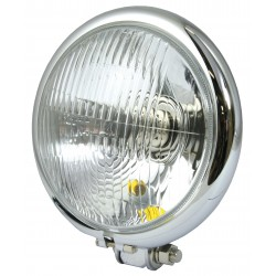 Koplamp/ Spotlight Custom ø155mm chroom