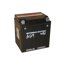 Accu AGM YIX30L-BS (met zuurpakket)