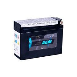 Accu AGM YT4B-BS (met zuurpakket)