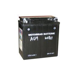 Accu AGM YTX 16-BS-1 (met zuurpakket)