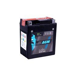 Accu AGM YTX 7L-BS (met zuurpakket).