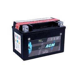 Accu AGM YTX 9-BS (met zuurpakket)