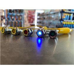 Controlelamp blauw (6-12V) LED